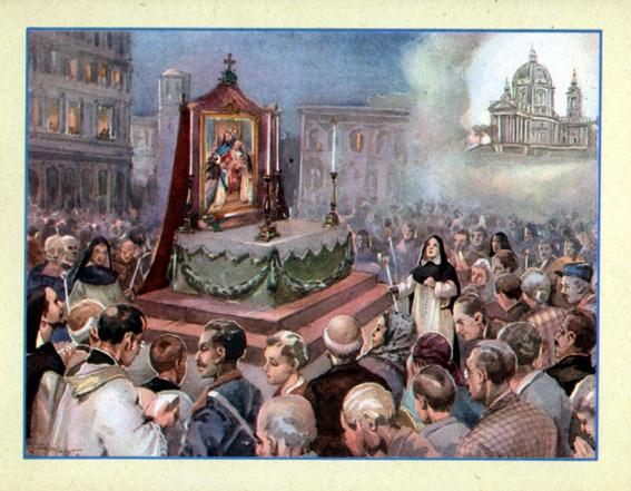 La liberazione di Torino (7 Sett. 1706)