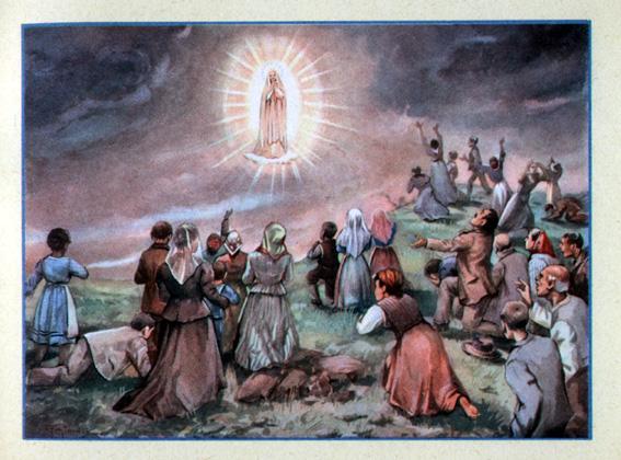 Il sole rotea nel cielo (Fatima, Grotta di Iria: 13 ott. 1917)